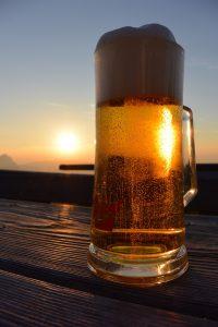 Biertrinken und Abnehmen